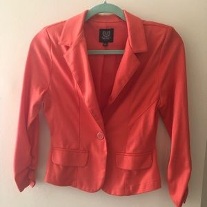 Mine Orange/Coral Blazer